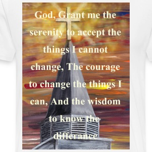 steeple_digital_serenity_white T-Shirts - Men's Premium T-Shirt