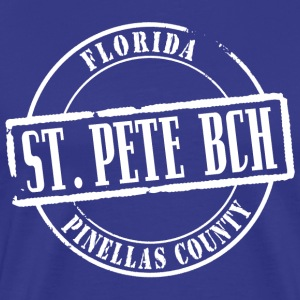 St Pete Bch Title B Heavyweight T-Shirt - Men's Premium T-Shirt
