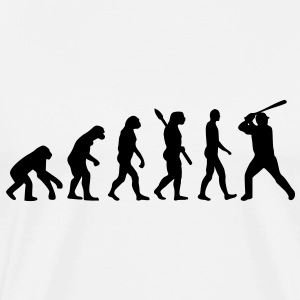 Baseball evolution T-Shirts - Men's Premium T-Shirt