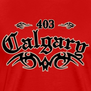 Calgary 403 Heavyweight T-Shirt - Men's Premium T-Shirt