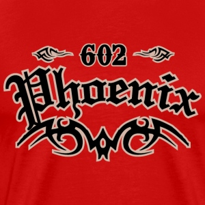 Phoenix 602 Heavyweight T-Shirt - Men's Premium T-Shirt