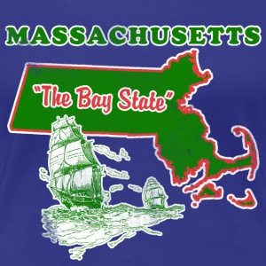 Massachusetts: The Bay State womens vintage T - Women's Premium T-Shirt