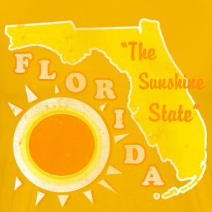 Florida, The Sunshine State Mens vintage T - Men's Premium T-Shirt