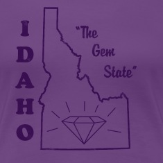 Idaho, The Gem State women's vintage T
