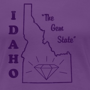 Idaho, The Gem State women's vintage T - Women's Premium T-Shirt