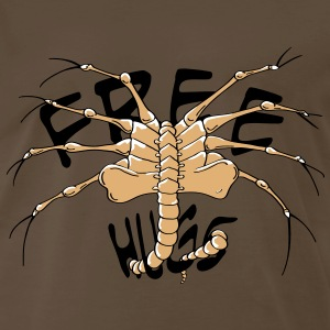 Free hugs face hugger - Men's Premium T-Shirt