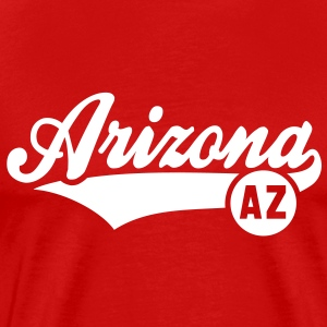 Arizona AZ T-Shirt WR - Men's Premium T-Shirt