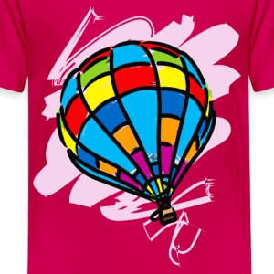 Hot_Air_Balloon_Trip - Kids' Premium T-Shirt