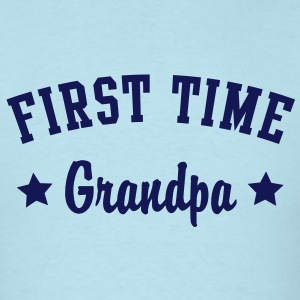 FIRST TIME Grandpa Shirt NS - Men's T-Shirt