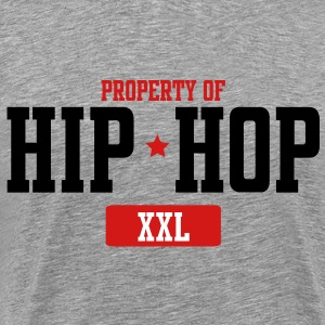 Property Of Hip-Hop  T-Shirts - Men's Premium T-Shirt