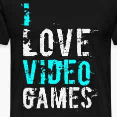 i love video games v1 T-Shirts