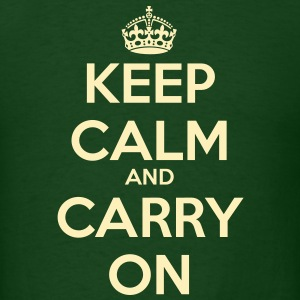 Keep Calm & Carry On Men's T - Men's T-Shirt