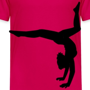 Gymnastics - Toddler Premium T-Shirt