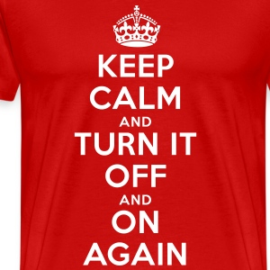 keep_calm_flex T-Shirts - Men's Premium T-Shirt