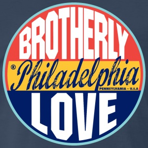 Philadelphia Vintage Label Heavyweight T-Shirt - Men's Premium T-Shirt