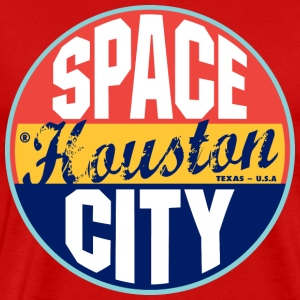 Houston Vintage Label Heavyweight T-Shirt - Men's Premium T-Shirt