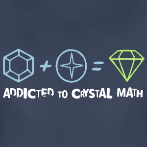 Addicted to Crystal Math Women's T-Shirts - Women's Premium T-Shirt