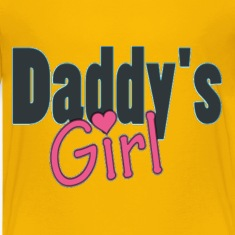 daddy's girl Kids' Shirts