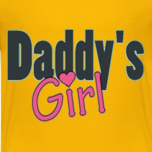 daddy's girl Kids' Shirts - Kids' Premium T-Shirt