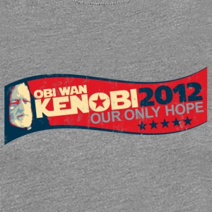 OBI WAN KENOBI 2012 - OUR ONLY HOPE Women's T-Shir - Women's Premium T-Shirt