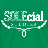 Design ~ SOLEcial Studies Tee by RDQLUS creative (Pick Your Color) 3XL & 4XL *Scholarship Tee*