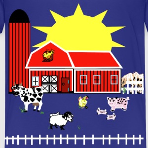 Farm Animals - Toddler Premium T-Shirt