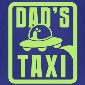 DAD's TAXI Alien space craft! funny daddy design Baby & Toddler Shirts - Toddler Premium T-Shirt