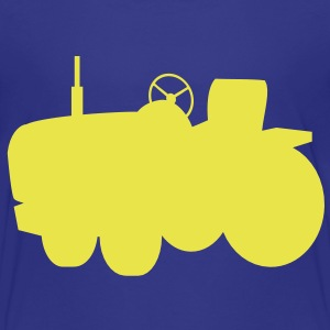simple tractor shape for farming farmer or land Baby & Toddler Shirts - Toddler Premium T-Shirt