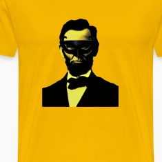 ABRAHAM LINCOLN ON THE TOWN IN MASK