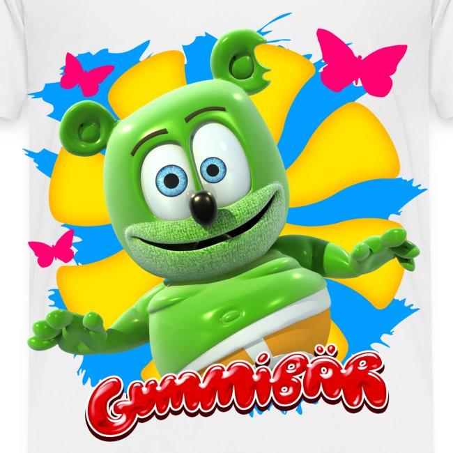 Gummibär (The Gummy Bear) Butterflies Toddler T-Shirt