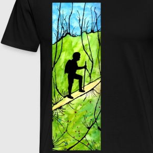 Hiking T-Shirts - Men's Premium T-Shirt
