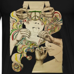 Abstract High - Men's Premium T-Shirt