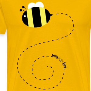 Bee on a Tee (Men's) - Men's Premium T-Shirt
