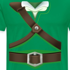 Link Green Tunic (Skyward Sword) - Front Only T-Shirts - Men's Premium T-Shirt