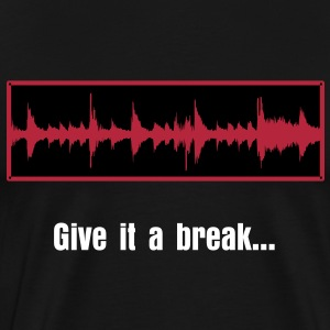 Amen Break Waveform : Give it a break - Men's Premium T-Shirt