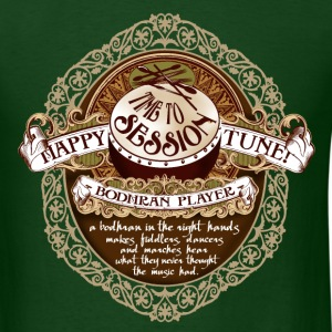 happy tunes - frame - Men's T-Shirt