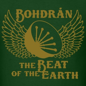 bodhran - beat of the earth - Men's T-Shirt
