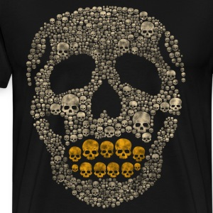 The Golden Skull T-Shirts - Men's Premium T-Shirt