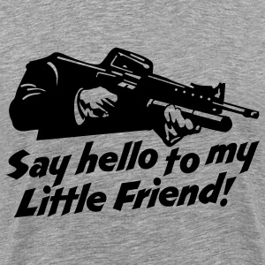little friend  T-Shirts - Men's Premium T-Shirt