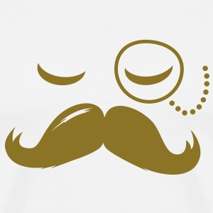 La Moustache Solo Fashionable Sir vintage funny style and popular cool boss T-Shirts - Men's Premium T-Shirt