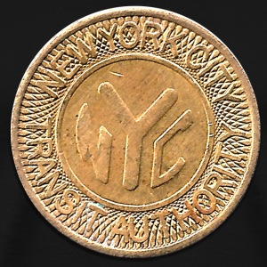 NYC Subway Token - Men's Premium T-Shirt