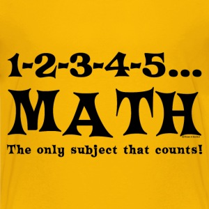 Black Math Counts Kids' Shirts - Kids' Premium T-Shirt