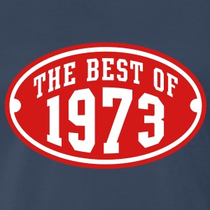THE BEST OF 1973 2C Birthday Anniversary T-Shirt - Men's Premium T-Shirt