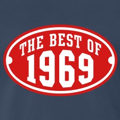 THE BEST OF 1969 2C Birthday Anniversary T-Shirt