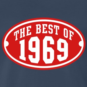 THE BEST OF 1969 2C Birthday Anniversary T-Shirt - Men's Premium T-Shirt