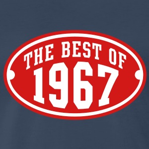 THE BEST OF 1967 2C Birthday Anniversary T-Shirt - Men's Premium T-Shirt