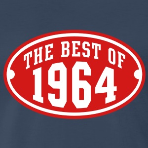 THE BEST OF 1964 2C Birthday Anniversary T-Shirt - Men's Premium T-Shirt