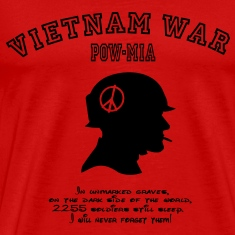 Vietnam War POW-MIA: I will never forget! T-Shirts