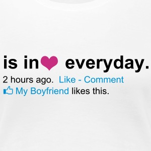 IN LOVE FACEBOOK For HER - Women's Premium T-Shirt