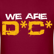Design ~ We Are DC Gold Tee